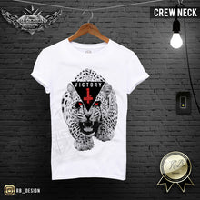 angry cheetah printed mens t-shirt