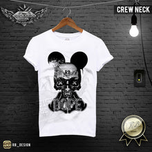 rb design mickey skull t-shirts