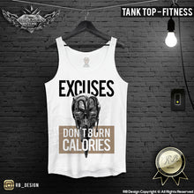 mens fitness tank top gym wear cool tops
