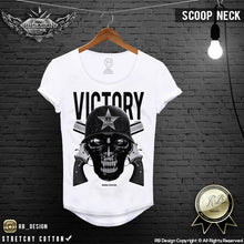 warrior skull t-shirt