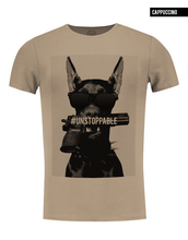 stylish cool fashion dog t-shirt