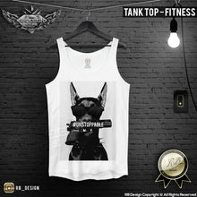 training Rottweiler tank top