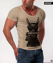 Men's T-shirt Rottweiler RB Design Police Dog Graphic Tee / Color Option / MD623