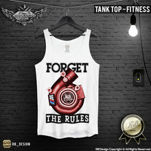 auto lovers turbocharger tank top