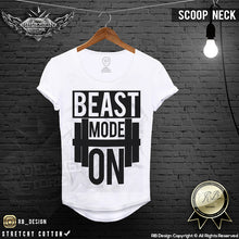 beast mode on t shirt musle fit