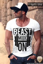 Beast Mode On Mens T-shirt Fitness Gym Training Tank Top MD642