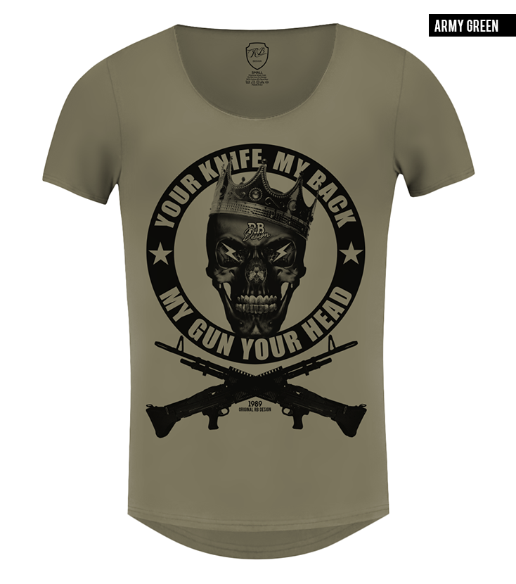Men's Fashion Skull T-shirt