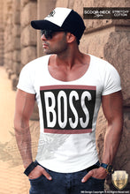 scoop neck slim fit shirts