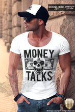 slim fit fashion skull t-shirt