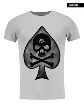 rb design gray slim fit tee shirts