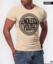 "Luxury Men's T-shirt ""Endless Youth"" / Color Option / MD672"