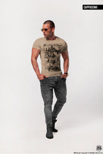 "Men's T-shirt Skeleton Prayer ""One Life to Live"" Creepy  Fashion Graphic Tee / Color Option / MD685"