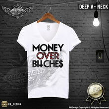 money over bitches cool tee shirts