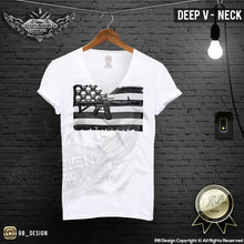 mens fashion deep v neck t-shirt