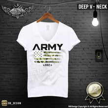mens deep v neck graphic tee