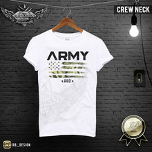 Army Camouflage Flag T-shirt Mens Fashion Muscle Fit T-shirt MD711