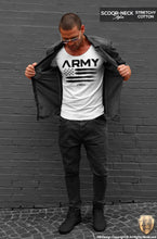 Men's T-shirt Army Warrior Fashion Graphic Tee MD711