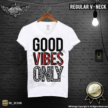 good vibes only graphic tees for men