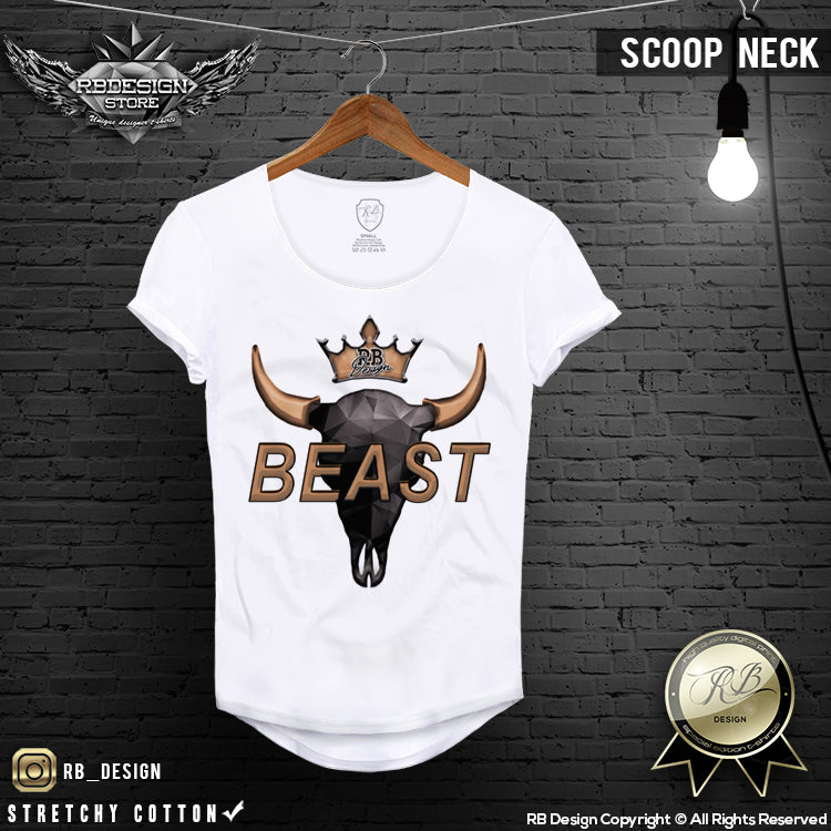 beast muscle fit t shirt