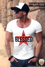 red star muscle fit t-shirt