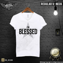 v neck graphic tee money