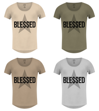 Men's Blessed T-shirt Millionaire Graphic Top / Color Option / MD744