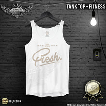 mens super fresh fitness tank top