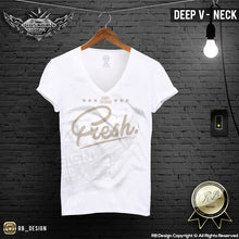 deep v neck mens shirts super fresh saying tees