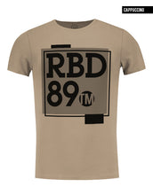 rb design beige mens t-shirt fashion