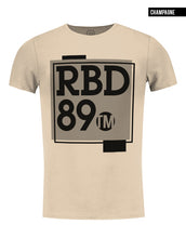 beige mens fashion t-shirt