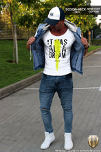 mens fashion outfit cool tee