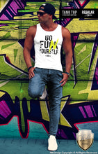 street style tank top for men
