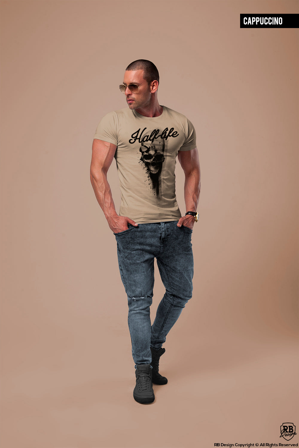 Designer Skull Men's T-shirt