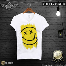 mens summer outfit happy smile t-shirts