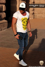designer mens tees smiley summer outfit