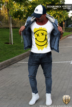 mens tee trendy outfit happy smile shirts