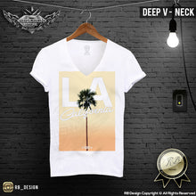 summer LA palm tree t-shirt