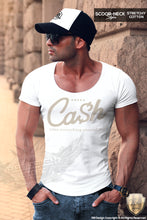 Men's Scoop Neck T-shirt Cash Rules Everything Around Me MD821