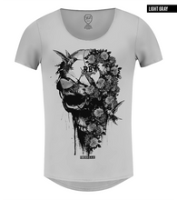 rb design luxury skull t-shirt