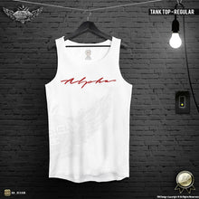 "Men's Tank Top Regular Style ""Alpha"" MD885"