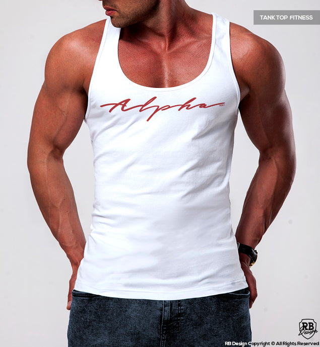 Men's Tank Top Fitness Style