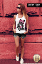 THE BOSS French Bulldog Women's T-shirt Ladies Dog Tank Top WD085
