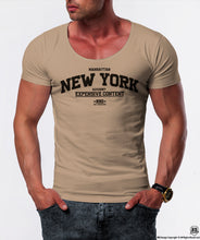 "Men's T-shirt  ""New York Advisory"" / Color Option / MD869"