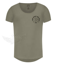 Khaki Beige Pocket Style Casual Mens T-shirt / Color Option / MD871
