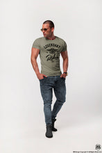 army green fashion t-shirt