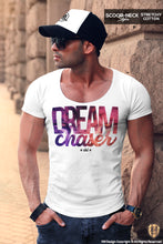 scoop neck mens t-shirt