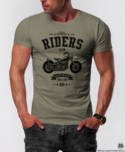 Men's Vintage Motorcycle Graphic T-shirt / Color Option / MD881