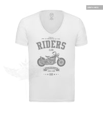 California Motorcycle Riders Casual Mens Graphic T-shirt MD881 Gray