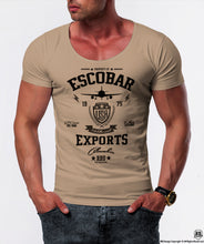muscle fit pablo escobar t-shirt