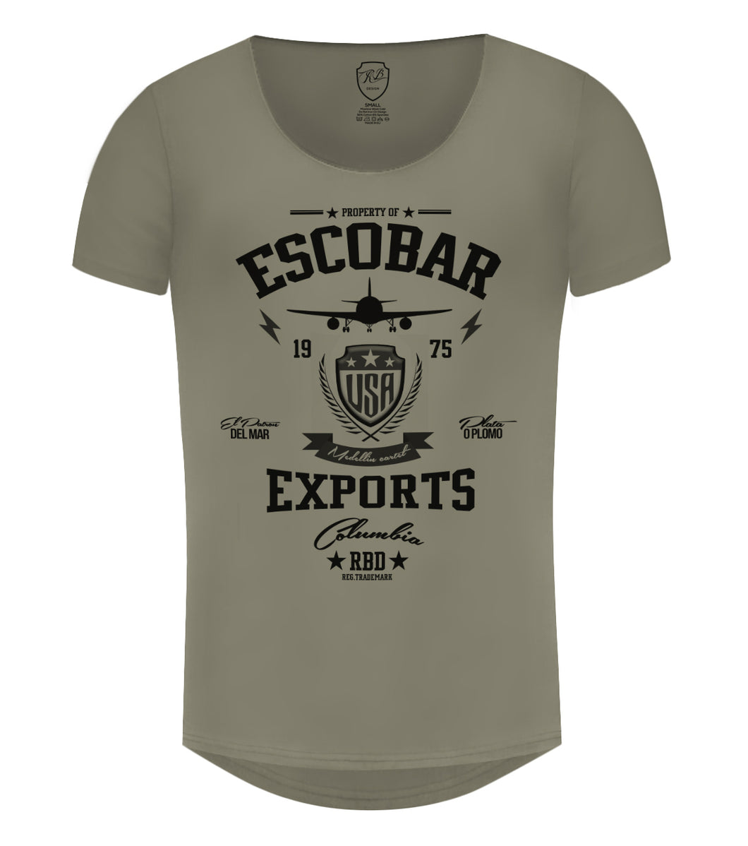 2f376439 Pablo Escobar Exports T-shirts - Medellin Cartel Inspired Stylish ...